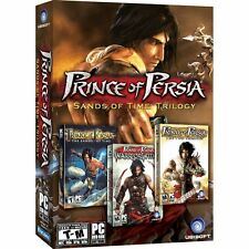 PRINCE OF PERSIA SANDS OF TIME TRILOGY 3 GAMES for PC SEALED NEW