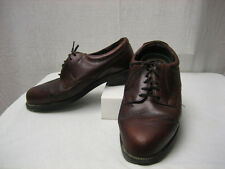 Nunn Bush Vintage Men's 8.5 8 1/2 W Light Brown 83764  Brown Genuine Leather