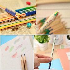 10pcs crayon de couleur enfants cadeau arc-en-ciel spécial surprise dessin Arts