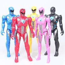 5pcs Power Rangers Superhero Kids Action Figures Display Figurines Doll Play Toy