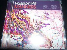 Passion Pit Manners (Deluxe Edition) Bonus 4 Tracks (Australia) CD - Like New