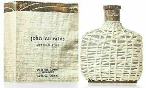 John Varvatos Artisan Pure 125ml EDT Mens 100% Genuine (New)