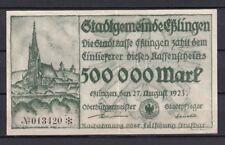 Eßlingen  -  Stadtgemeinde  -  500 Tausend Mark