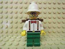 Lego Adventures Figur Dr. Charles Lightning + Rucksack  adv040 5909 5986 5958