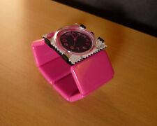 Fuchsia Armband horloge Wekker van STAMPS S.T.A.M.P.S. Montre Uhr Watch