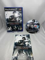 Medal Of Honor: Vanguard  Sony PlayStation 2, 2007  Game Complete With  Manual
