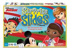 Disney Junior Surprise Slides Board Game Mickey Mouse Doc Sophia Clubhouse New