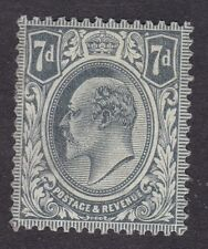 Great Britain - KEVII 1902 to 1911 - 7d - Grey  (D2H)