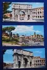 LOTTO 3 MINI CARD - ARCO COSTANTINO -  ROMA - 1964-66