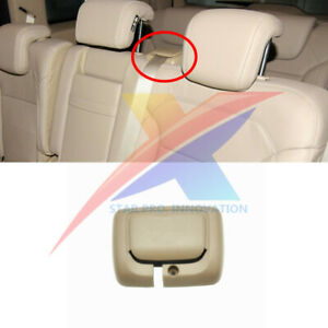 Beige Rear Row Center Seat Belt Guide Cover For Mercedes X166 W166 GL ML GLE GLS