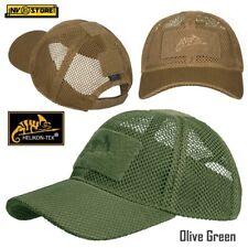 Cappello Berretto Baseball HELIKON-TEX BBC Mesh Cap Rete Militare Softair Green