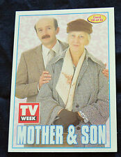 MOTHER & SON - TV WEEK COLLECTORS CLASSIC SHOWS CARD #28 - RARE