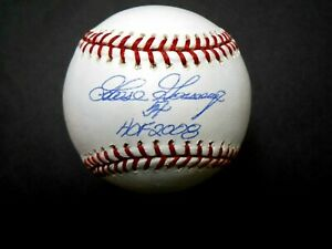 YANKEES GOOSE GOSSAGE SIGNED MLB BASEBALL WITH HOF 2008 INSCRIPTION STEINER MLB