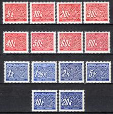 Germany / Bohmen und Mahren - 1939 Postage Due - Mi. 15 MH