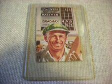 Cricket Memorabilia  Vintage Cereal Card – Sir Don Bradman