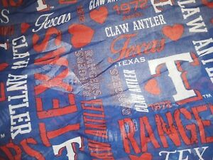 TEXAS RANGERS WOMENS INFINITY SCARF JERSEY CLR S M L XL MLB BASEBALL CUTE RARE