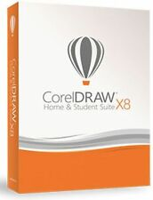 Corel DRAW Home and Student Suite X8 3 PC Graphics BOX (Nachfolger von X6,X7)