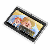 """New 7"""" 8GB White Dual Cameras A33 Quad Core Android 4.4 KitKat Tablet For Kids@"""