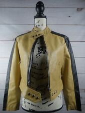 Vera Pelle genuine Biker Leather Jacket, Excellent Condition