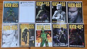 Image KICK-ASS (Vol. 4) #1-6 Full Run + Variant #1, 2, 3, 4; Millar, Romita Jr.