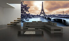 Paris Eiffel Tower,Vintage Wall Mural Photo Wallpaper GIANT DECOR Paper Poster