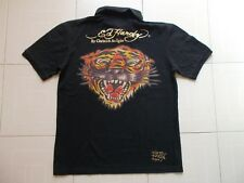 ED HARDY BY CHRISTIAN AUDIGIER (made in USA) Tiger Polo Uomo Men's T-shirt M