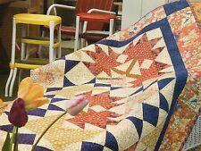 Ginger & Tea Leaves Quilt Pattern Pieced KE