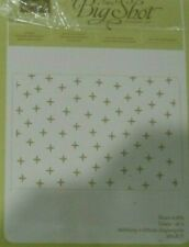"""New listing Pre-owned Retired Stampin up Sparkle Textured Impress Folder 6 3/16"""" x 4 1/2"""""""