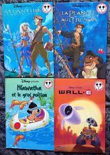Lot x 4 Livres WALT DISNEY,Club du livre Mickey
