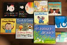 Lot 10 Larger Board books 2 Lap Size Runaway Bunny Duck & Goose Peter Rabbit