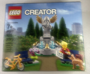 LEGO Creator 40221 Park Fountain Set Promotional Retired Item NEW IN BOX