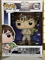 Funko Pop! Star Wars Empire Strikes Back Luke Skywalker & Yoda Vinyl Figure #363