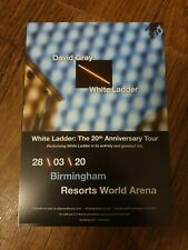 DAVID GRAY - WHITE LADDER 20TH ANNIVERSARY TOUR - FLYERs x4