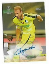 2015-16 TOPPS UEFA CHAMPIONS LEAGUE Auto Card :Laurent Depoitre #25/50
