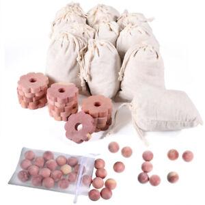 Cedar Blocks, 100% Natural Cedar balls for Clothes Storage, Aromatic Cedar Ball