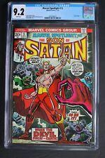 MARVEL SPOTLIGHT #13 ORIGIN 1st Color SATANA 1974 Son of Satan HULU TV CGC 9.2