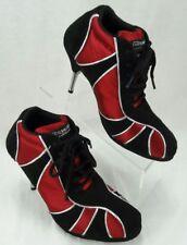 Fabio Shoes Ballroom Latin Salsa Dance Shoes Designer Women's size 39.5