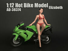 American Diorama Figure For 1:12 Motorcycle Hot Bike Showgirl Elizabeth AD-38374