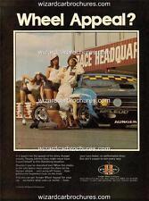 1974 FORD JOHN GOSS XA BATHURST GT POSTER AD SALES BROCHURE MINT