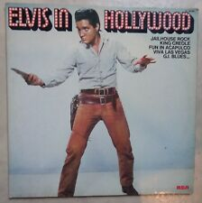 DOUBLE VINYLE 33 TOURS ELVIS PRESLEY IN HOLLYWOOD CL 00168 RCA 1976 FRANCE 2 LP