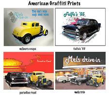 CAR PRINTS American Graffiti: Milner, Falfa or Mels Drive-in