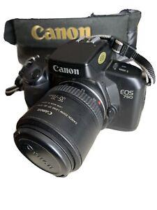REFLEX ANALOGICA CANON EOS 750 Con Obiettivo 35-70 E Borsa Originale