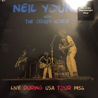 NEIL YOUNG + CRAZY HORSE 'LIVE DURING USA TOUR 1956 2 X LP VINYL - BRAND NEW