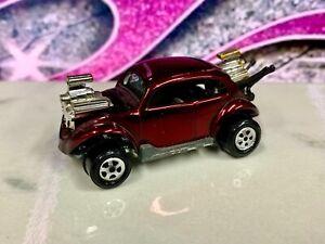 Vintage 1970 Topper Toys Johnny Lightning Red Volkswagen VW Bug Bomb