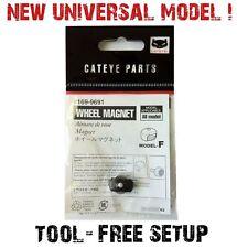 Universal Cat Eye Wheel Spoke Magnet Speed Sensor CatEye 4 ANY Bicycle Computer