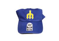 NWT New Seattle Mariners '47 Brand Franchise On Field Throwback Small Fitted Hat