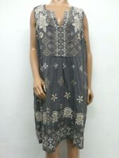 NWT Johnny Was JWLA Embroidered Lane Tie Tank Dress - 1X - OL24530419