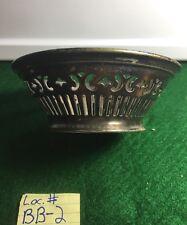 Antique Meriden Brittania Detroit Yacht Club Silver Plated Basket Bowl