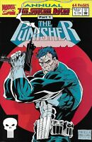 Punisher Comic Issue 5 Annual Modern Age First Print 1992 David Rob Tokar Salick