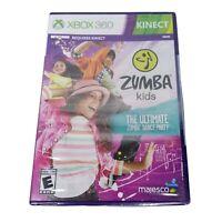 Microsoft Xbox 360 Kinect Zumba Kids Ultimate Zumba Dance Party NEW Sealed
